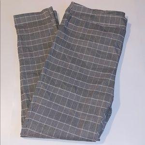 Jules & Leopold Houndstooth Plaid Leggings